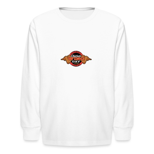 Chicken Wing Day - Kids' Long Sleeve T-Shirt