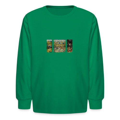 Garden Of Earthly Delights - Kids' Long Sleeve T-Shirt