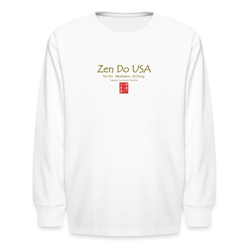 Zen Do USA - Kids' Long Sleeve T-Shirt