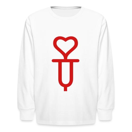 Addicted to love - Kids' Long Sleeve T-Shirt