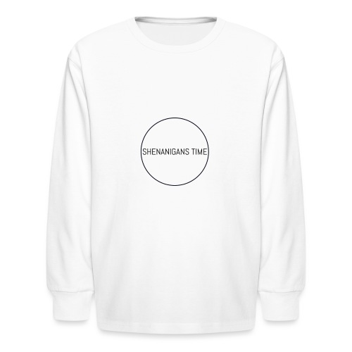 LOGO ONE - Kids' Long Sleeve T-Shirt