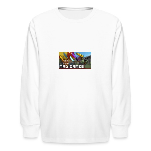 Mad freaking games - Kids' Long Sleeve T-Shirt