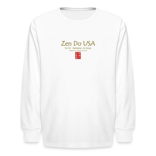 Zen Do USA - Kids' Long Sleeve T-Shirt