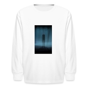 Creepy Forest Person - Kids' Long Sleeve T-Shirt