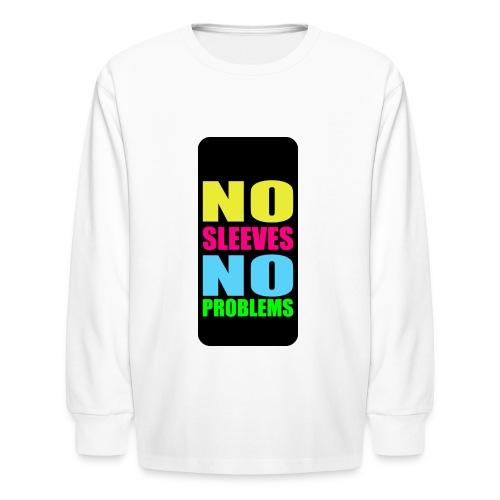 neonnosleevesiphone5 - Kids' Long Sleeve T-Shirt