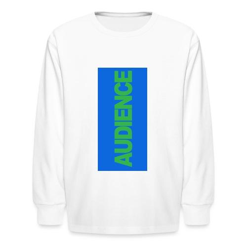 audiencegreen5 - Kids' Long Sleeve T-Shirt