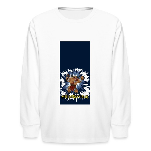 minotaur5 - Kids' Long Sleeve T-Shirt