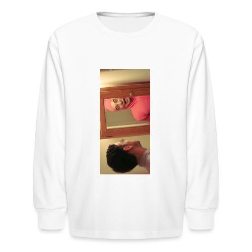 pinkiphone5 - Kids' Long Sleeve T-Shirt