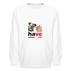 Dog & Cat - Kids' Long Sleeve T-Shirt
