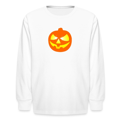 halloween pumpkin - Kids' Long Sleeve T-Shirt