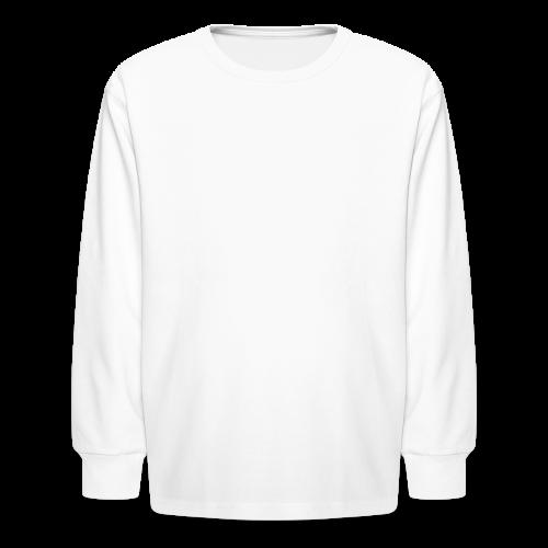 35DD Male White - Kids' Long Sleeve T-Shirt
