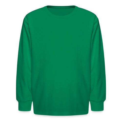 PA Keystone w/Male Hiker - Kids' Long Sleeve T-Shirt