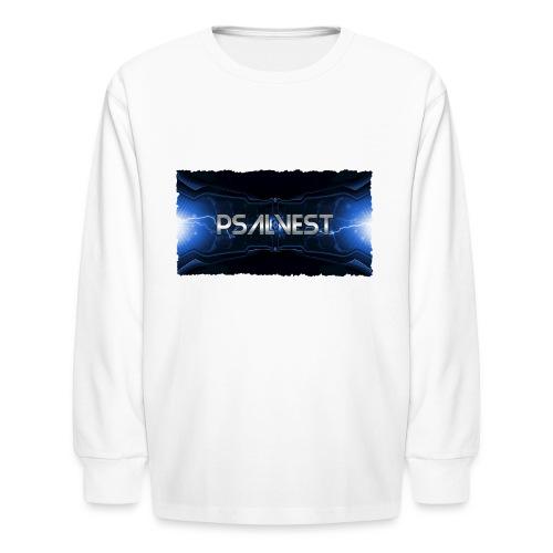 psalvest banner - Kids' Long Sleeve T-Shirt