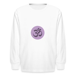 om - Kids' Long Sleeve T-Shirt