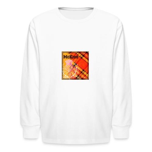 mckidd name - Kids' Long Sleeve T-Shirt