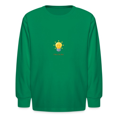 Idea Bulb - Kids' Long Sleeve T-Shirt