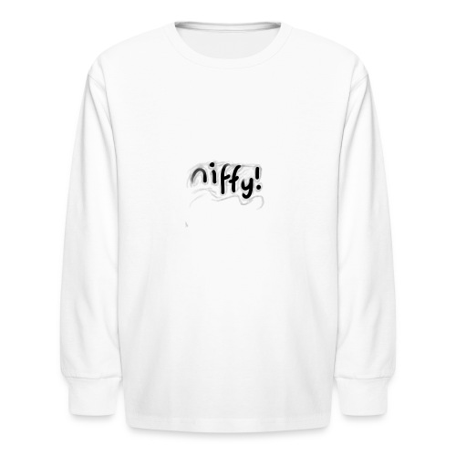 Niffy's Sway Design - Kids' Long Sleeve T-Shirt