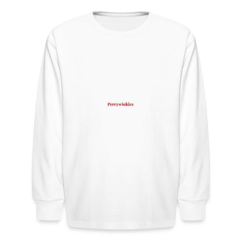 Perrywinkles - Kids' Long Sleeve T-Shirt