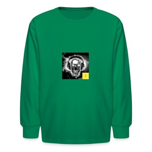 skull - Kids' Long Sleeve T-Shirt
