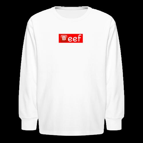Beef//Kids Sizes - Kids' Long Sleeve T-Shirt