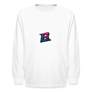 BlaZe Kranteon Logo - Kids' Long Sleeve T-Shirt