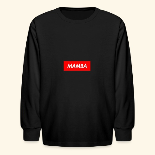 Supreme Mamba - Kids' Long Sleeve T-Shirt