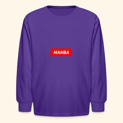 Supreme Mamba - Kids' Long Sleeve T-Shirt