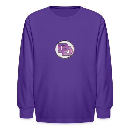 DerpDagg Logo - Kids' Long Sleeve T-Shirt