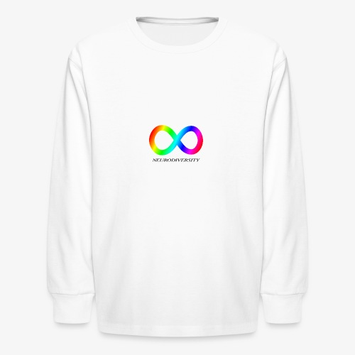 Neurodiversity - Kids' Long Sleeve T-Shirt