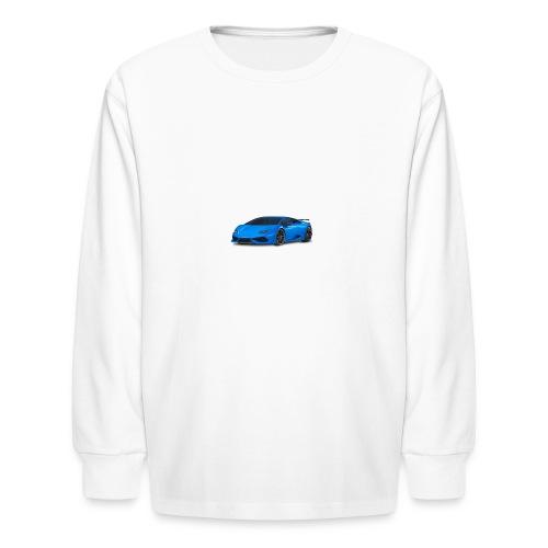 My Dream Car - Kids' Long Sleeve T-Shirt