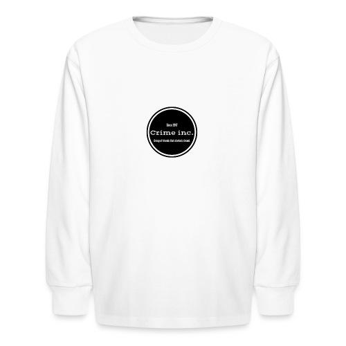 Crime Inc Small Design - Kids' Long Sleeve T-Shirt