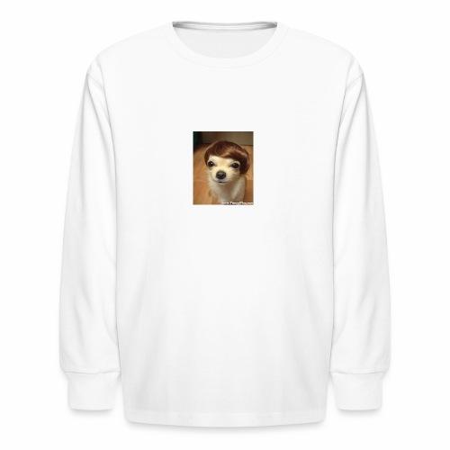 Justin Dog - Kids' Long Sleeve T-Shirt