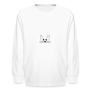 SQLogoTShirt-front - Kids' Long Sleeve T-Shirt