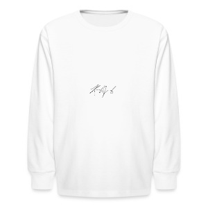 My Logo - Kids' Long Sleeve T-Shirt