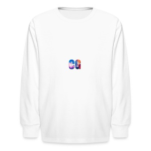 CG_Logo - Kids' Long Sleeve T-Shirt