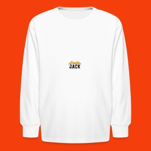 monster jack logo - Kids' Long Sleeve T-Shirt