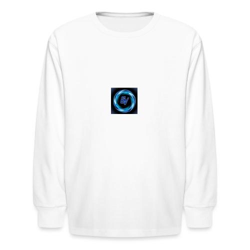 MY YOUTUBE LOGO 3 - Kids' Long Sleeve T-Shirt