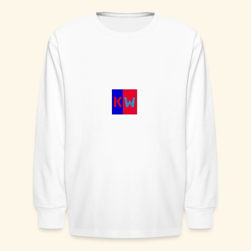 Kalani wipou logo shirt - Kids' Long Sleeve T-Shirt