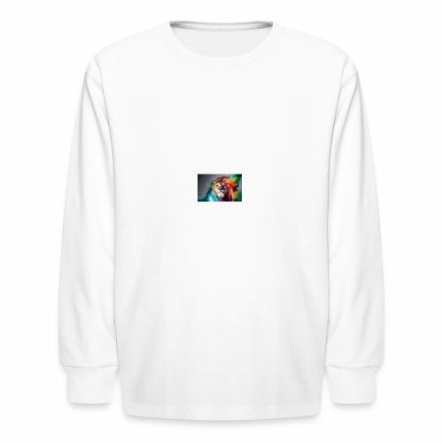 Lion - Kids' Long Sleeve T-Shirt