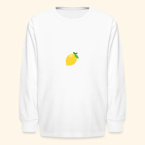 lemon - Kids' Long Sleeve T-Shirt