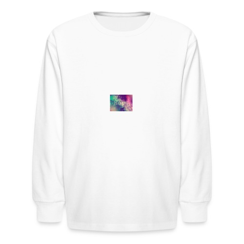 hope - Kids' Long Sleeve T-Shirt