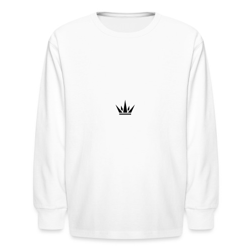DUKE's CROWN - Kids' Long Sleeve T-Shirt