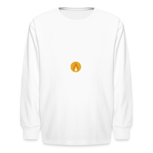 Flame (For cases and Cups) - Kids' Long Sleeve T-Shirt