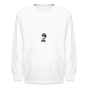 Luigi from (Mario)The Music Box By Team Ari - Kids' Long Sleeve T-Shirt