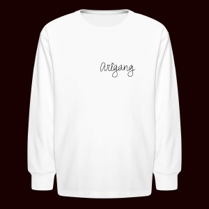 AriGang logo - Kids' Long Sleeve T-Shirt