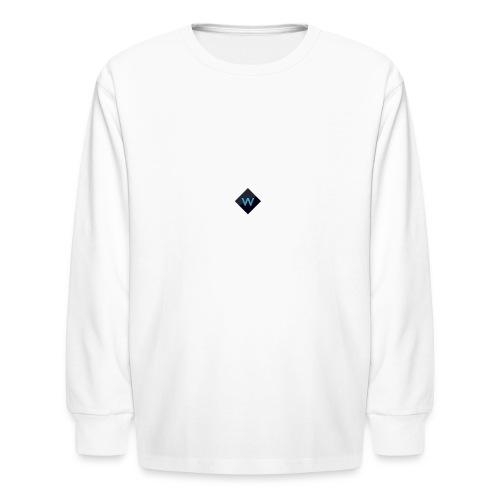 White_Sparclz Gaming CHANEL LOGO 22 - Kids' Long Sleeve T-Shirt