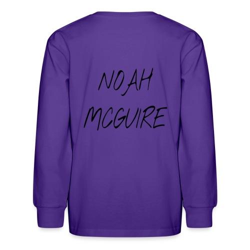 Noah McGuire Merch - Kids' Long Sleeve T-Shirt