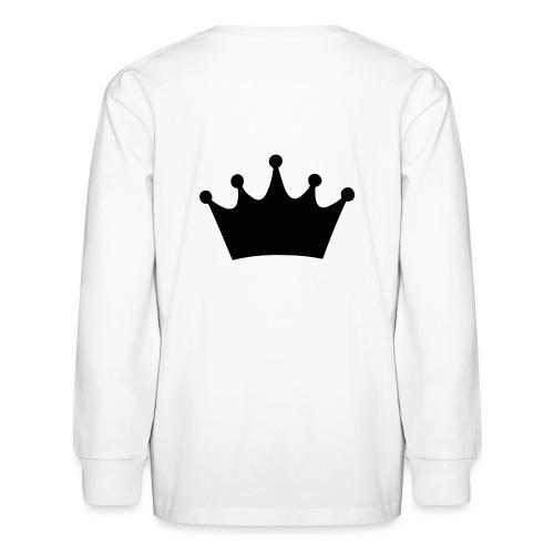 CROWN - Kids' Long Sleeve T-Shirt