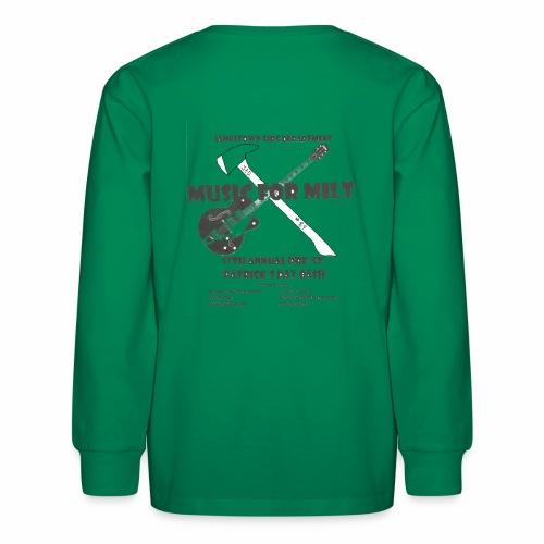 2018 Pre-St. Patricks Day Bash - Kids' Long Sleeve T-Shirt