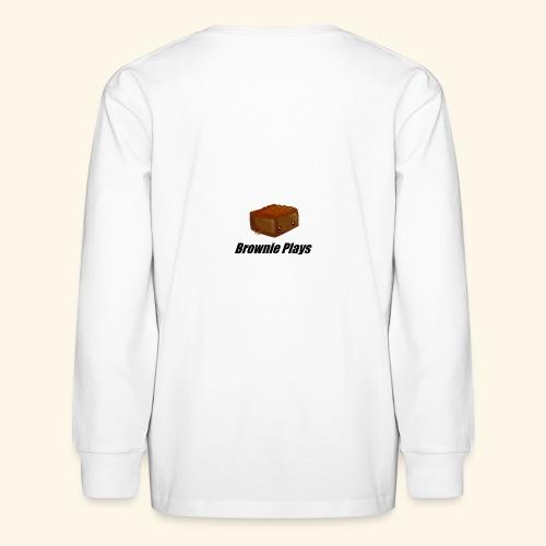 Brownie Plays Merchandise - Kids' Long Sleeve T-Shirt
